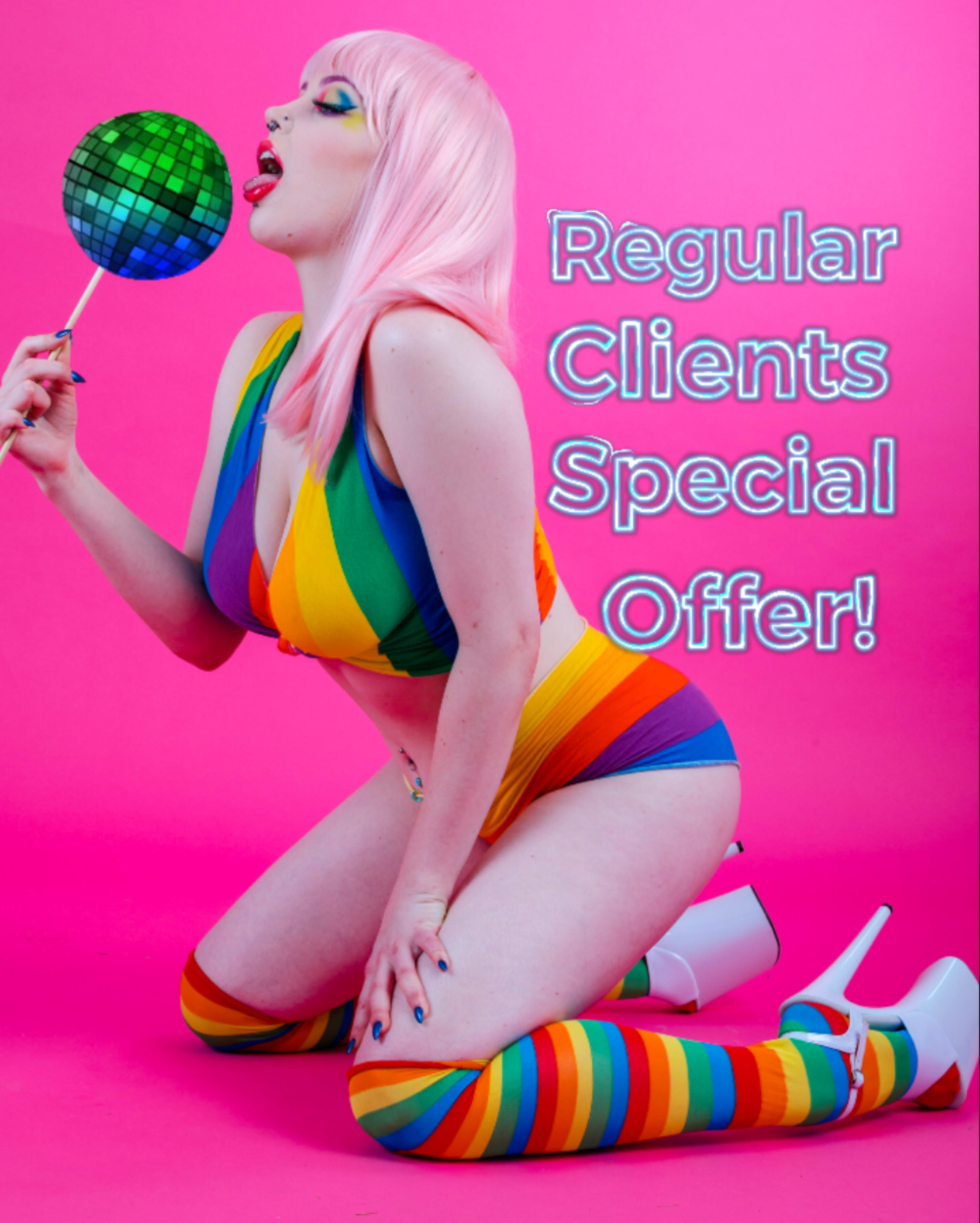 To sweeten the deal for return clientele